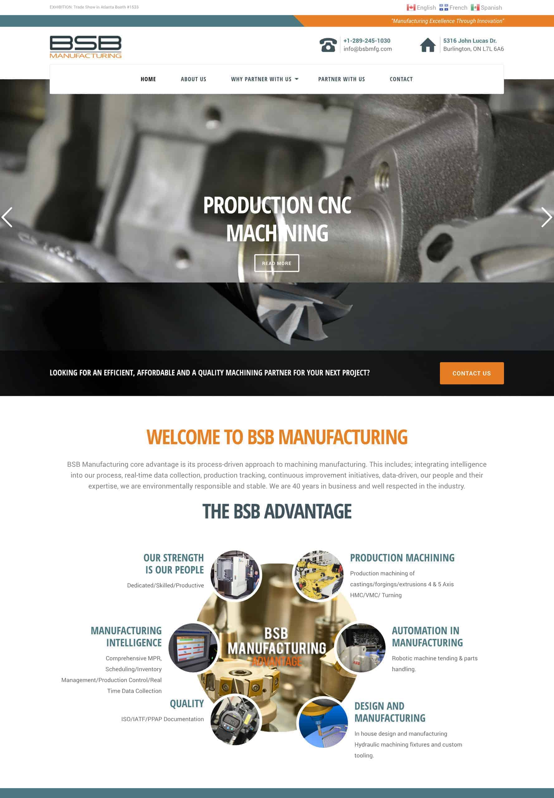 Try Next Step BSB Manufacturing Webshot Image