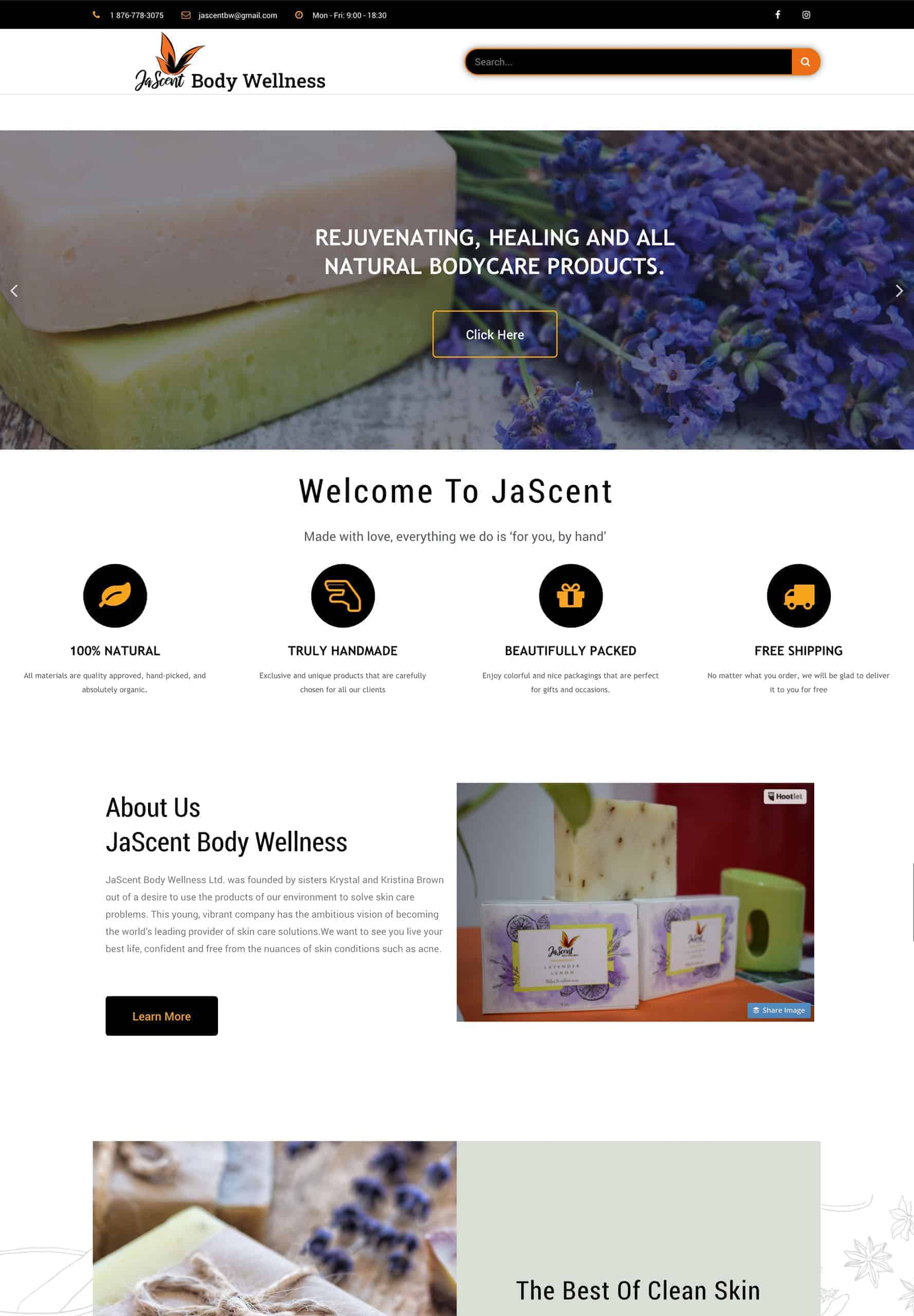 Try Next Step JaScent Body Wellness Webshot Image