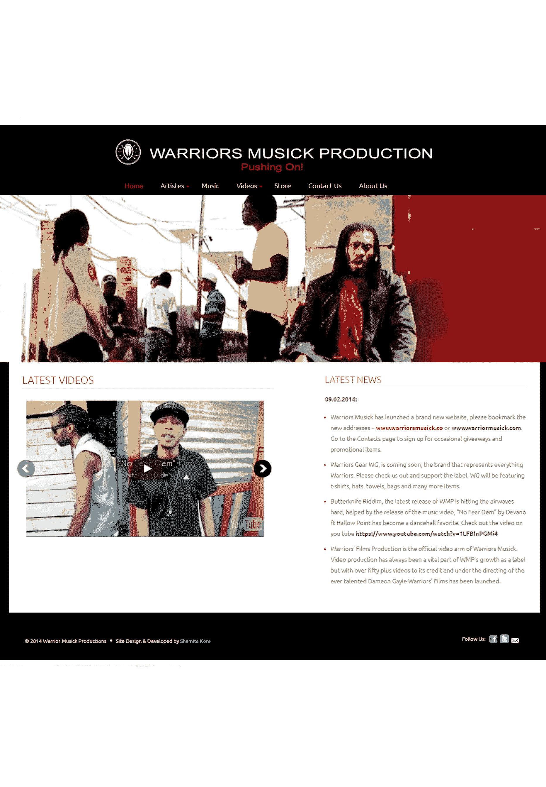 Next Step Digital Solutions Warrior Musick Page2