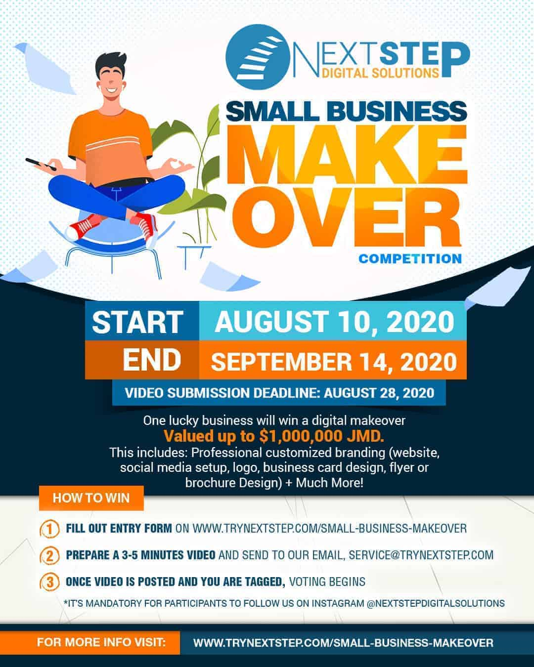 Next Step Small Business Makeover